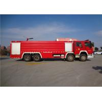 Buy cheap Darley Pump Commercial Fire Trucks 11775×2500×3700mm Dimension Drive 8x4 from wholesalers