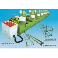 Buy cheap 13*25-95*45mm 32 Head Square Pipe Polishing Machine Installation 3-30m/min from wholesalers