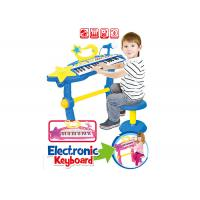 Buy cheap Electronic Piano Keyboard For Kids 37 Key Children's Musical Toys Blue / Pink Color product