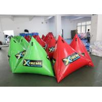 Buy cheap Green Inflatable Marker Buoy / Inflatable Floating Water Park 3 Years Warranty product