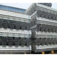 "Quality 1/2""-46"" Round Hot Galvanized Steel Pipe for sale"