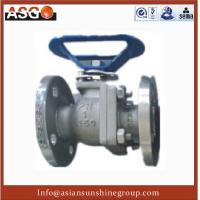 Buy cheap Special Material Ck20(f310) Dn12~4, Api 2 Pcs Float Ball Valve Cast Steel Ball Valve–ASG product