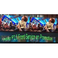 Buy cheap PROMOTION Super HD Indoor Advertising LED Display Screen Pitch 2.5mm 3 Years from wholesalers