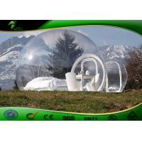 Buy cheap PVC Durable Inflatable Event Tent Large Heat Seal With Single Tunnel product