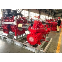 Buy cheap 2000 GMP Double Suction Diesel Engine Fire Pump Set With UL /  FM Certificates Be accordance with NFPA 20 product
