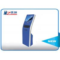 Buy cheap 17 inch automaticfreestanding kiosk touch queuing Customized Color product