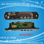 Buy cheap JK6836BT usb tf card fm bluetooth module mp3 decoder board product