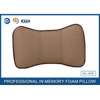 Buy cheap Washable Travel Memory Foam Car Neck Pillow / Car Seat Neck Rest Pillow product