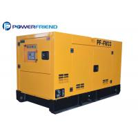 Buy cheap Yellow 50HZ 30kva FAWDE Diesel Engine Generator Set Silent Type Three Phase product