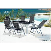 Buy cheap Ouside Folding Garden Table And Chairs Patio Dining Sets Comfortable from wholesalers