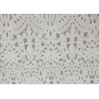 Buy cheap Polyester Milk Water Soluble Dying Lace Fabric, Vintage Guipure Lace For Dresses product