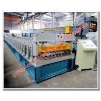 Buy cheap Color Chromadek and Galvanised IBR Roof Panel Roll Forming Machine ISO 9001:2008 product