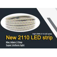 Buy cheap Adopt the latest technology Of Flexible LED Strip Lights New SMD2110 CRI 90Ra from wholesalers