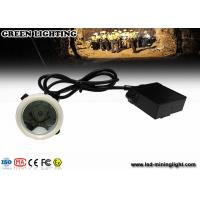 Buy cheap Rechargeable Emergency Mining Cap LED Lamp , 1.11W 300mA Mining Headlamp from wholesalers