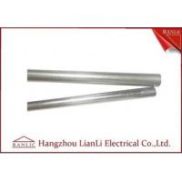 Buy cheap 1/2 inch Steel EMT Electrical Conduit Welded 2 inch Galvanized Pipe product
