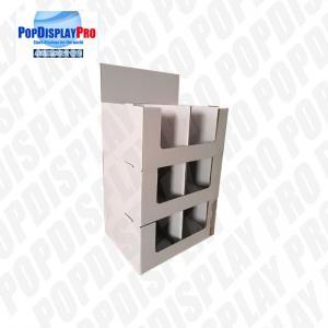 Buy cheap Seasonal Floor Stackable Quarter Pallet Cardboard Display Stand product