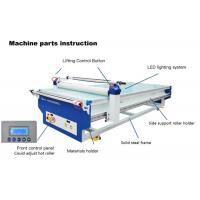Buy cheap Large Format Flatbed Laminating Machine With Cutting Pad And Cutter 1500 / 3000mm product