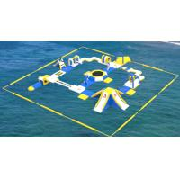 Buy cheap Adult Inflatable Water Play Equipment For Sea / Inflatable Water Park Design Build product