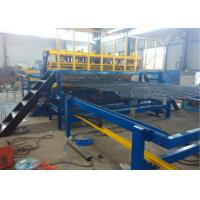 Buy cheap Intelligent Wire Mesh Fencing Machine  PLC Control System , Custom Wire Mesh Making Machine product