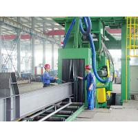 China High Speed Shot Blasting Machine , Steel Shot Blast Equipment on sale