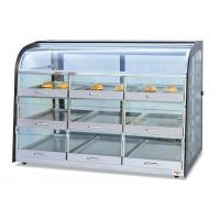 Buy cheap Table Top Glass Food Warmer Showcase Drawer-Type 3-Layer 9-Pans Bread Display Cabinet product