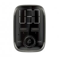China Quick Charger Car Kit FM Transmitter MP3 Player With Large LED display Dual USB 4.1A on sale