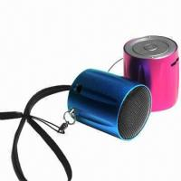 Buy cheap TF Card Mini Speakers, Supports MP3 Player/Computer/Mobiles Phones, with Metal Case, Smallest Size product