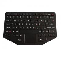 Buy cheap Industrial Ruggedized Vehicle Keyboard IP65 USB/PS2 Interface With Touchpad Fn Keys product