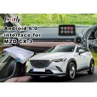 Buy cheap Android 6.0 Multimedia Video Interface for Mazda CX-3 2014-2018 with knob control Google product