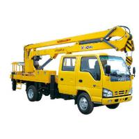 Buy cheap 2T Lifting Capacity XCMG Bucket articulating boom truck 360 Slewing Angles product