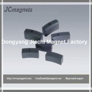 Buy cheap Ferrite Arc-segment Magnet for Textile Machine product
