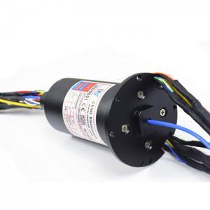 Buy cheap Hybrid HDMI Slip Ring 0~100rpm Rotating Speed With HDMI/SDI Signal Transmission product