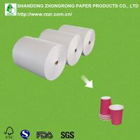 China one side PE coated paper roll on sale