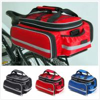 Rear Rack Bike Trunk Bag Double Side , Hand Luggage Bags For Short Trip Vehicle Carrying