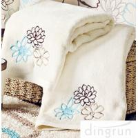 Buy cheap OEM Customized 100% Cotton Hand Wash Towels , 30*60cm Eco-friendly product