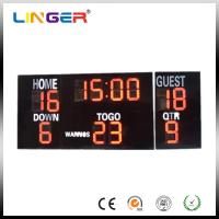 Buy cheap 20 Inch Large Red Digits Electronic Soccer Scoreboard For Outdoor CE / ROHS from wholesalers