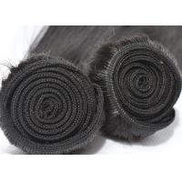 Buy cheap No Bad Smell Peruvian Straight Hair Weave 100% Unprocessed Black With A Little Brown product