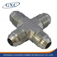 China XJ China supplier wholesale carbon steel 4-way cross galvanized pipe fitting on sale