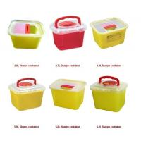 Buy cheap Disposable Sharps Container F/R/T/Y Shape for choice product