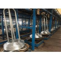Buy cheap Continuous Galvanized Wire Machine Production Speed 100 - 120m / Min High Efficiency product