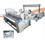 Buy cheap SIEMENS PLC Toilet Paper Production Line , Toilet Paper Rewinding Machine 250m/ Min High Speed product