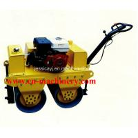 Buy cheap Walk Behind Double Drum Hydraulic Vibratory Road Roller of Construction Machinery product