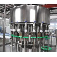 Buy cheap Automatic Oil Bottling Machine 220V / 380V Voltage PLC Control High Precision product