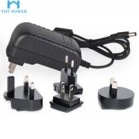 Buy cheap 12V 2A 24W Ac To Dc Power Converter , Interchangeable Universal Ac Dc Adapter from wholesalers