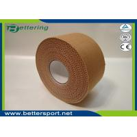 Buy cheap 3.8cmx13.7m Latex free zinc oxide athletic rigid strapping tape viscose sports tape to limit joint movement product