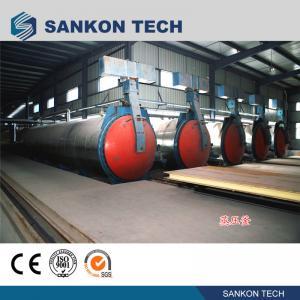 Buy cheap SANKON Vertical Autoclave Machine for aerated concrete block product