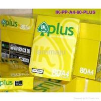 China IK Plus A4 Copy Paper A4 80 Gsm on sale