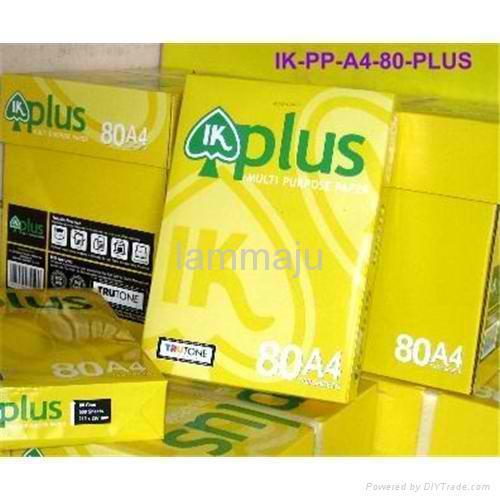 Quality IK Plus A4 Copy Paper A4 80 Gsm for sale