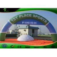 Buy cheap Customized Advertising Inflatable Start Finish Arch For Sport Events Oxford Cloth product