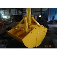 Buy cheap One Cylinder Clamshell Excavator Grab Bucket Komatsu Telescopic Boom Grapple Bucket from wholesalers